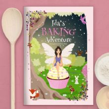 Personalised Fairy Baking Adventure Book P0512Z30